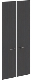 Skyland Door XHD 42-2 84.6x18x190cm Dark Wood
