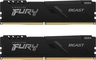Operatīvā atmiņa (RAM) Kingston FURY Beast, DDR4, 16 GB, 3600 MHz