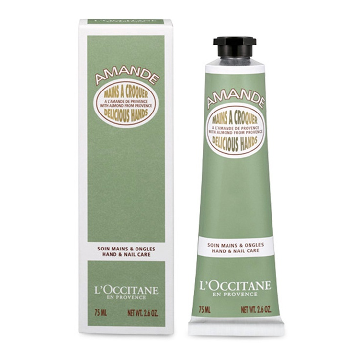 Roku krēms L´Occitane Almond Delicious Hands, 75 ml