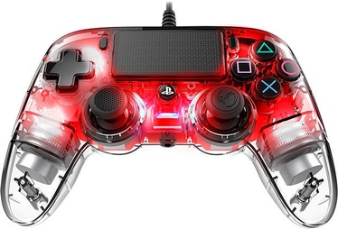 Nacon Compact Wired Controller Illuminated Red