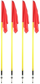 Select Flag Set 4pcs Red/Yellow 11869