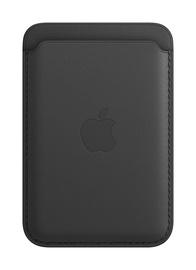 Dėklas kortelėms odinis iPhone juoda