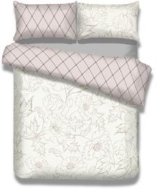 AmeliaHome Snuggy Art Nouveau Bedding Set 155x220/80x80