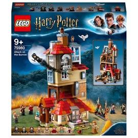 Конструктор LEGO Harry Potter Attack on the Burrow 75980, 1047 шт.