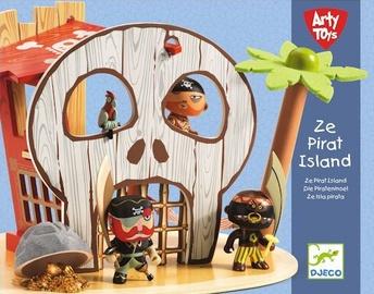 Djeco Arty Toy Ze Pirate Island DJ06829