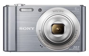 Fotoaparatas Sony DSC-W810S, sidabrinis