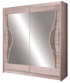 CS Wardrobe With Mirror Dome 5D 82370013