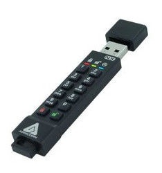 USB atmintinė Apricorn Aegis Secure Key 3NX, USB 3.0, 64 GB