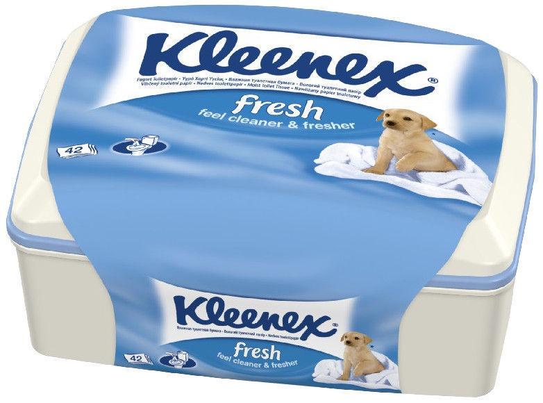 Kleenex Wet Toilet Paper 42 pcs