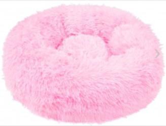Кровать для животных Springos XL, розовый, 900x900 мм