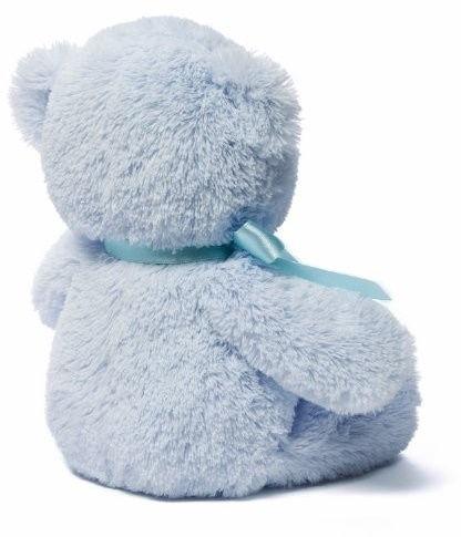 Плюшевая игрушка Hasbro My First Teddy 6048600, синий, 25 см