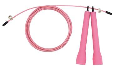 Šokdynė Lifefit foam 300 cm, rožinė