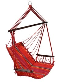 Home4you Hip Cotton Hanging Chair Red