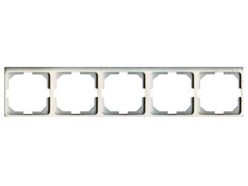 Penkiavietis rėmelis Vilma LX200, baltos spalvos
