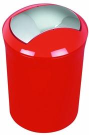 Spirella Sydney Waste Bin 5l Red
