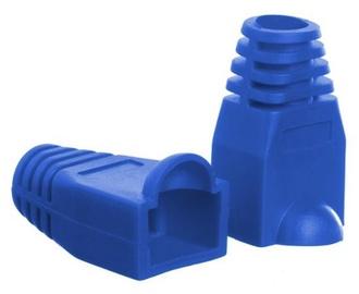 Netrack Boot for RJ45 8P Plug x 100 Blue