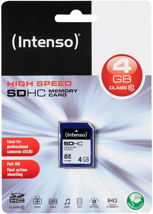 Intenso 4GB SDHC Class 10 3411450