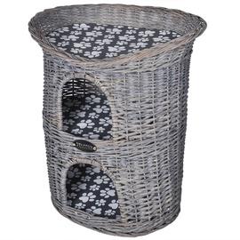 Домик для животных VLX Cat Bed, белый/черный/серый, 580 мм x 420 мм