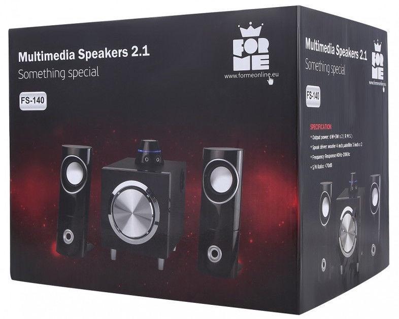 Forme FS-140 2.1 Multimedia Speakers