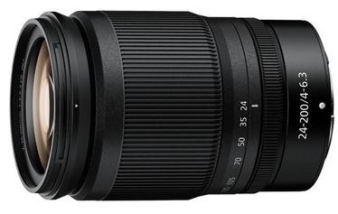 Nikon Nikkor Z 24-200mm f/4-6.3 VR Lens Black