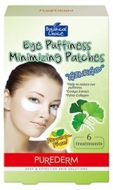 Purederm Eye Puffiness Minimizing Patches Ginkgo 6 pcs