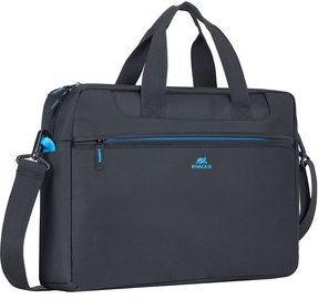 """Rivacase Notebook Bag Regent 16"""" Black"""