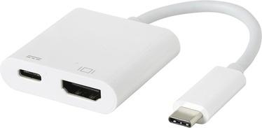 eSTUFF ES623002WH USB-C HDMI Charging Adapter