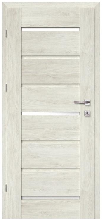 Vidaus durų varčia Greco, pilko ąžuolo, kairinė, 203.5x84.4 cm