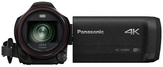Panasonic 4K Ultra HD Camcoder HC-VX980
