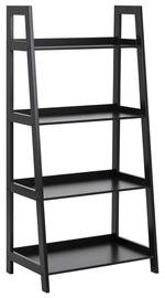 Home4you Wally Shelf H130cm Black