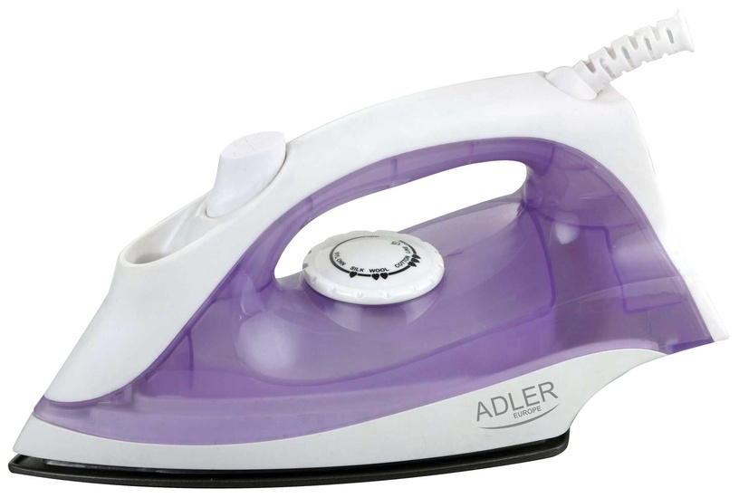 Утюг Adler AD 5019, белый/фиолетовый