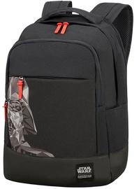 """Samsonite Notebook Backpack Darth Vader For 15.6"""" Black"""