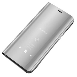 Hurtel Clear View Case For Huawei P30 Lite Silver