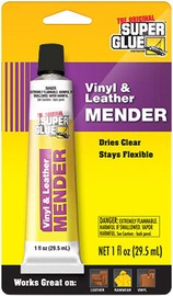Super Glue Vinyl & Leather Mender 29.5ml