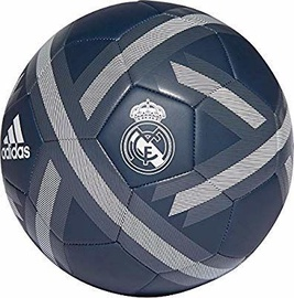 Adidas Real Madrid Ball Blue/Silver Size 4