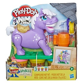 Žaislinis modelinas Hasbro Play-Doh Animal Crew Naybelle Show Pony E6726