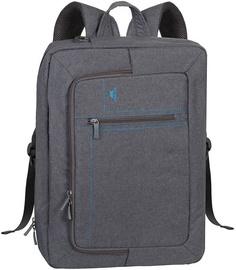 Rivacase Transformer Laptop Backpack 16'' Grey