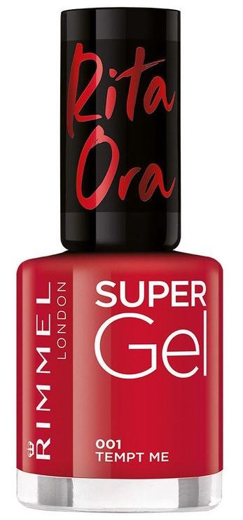 Rimmel London Supergel Red Instinct By Rita Ora 8ml 001