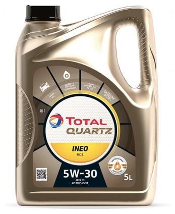 Motoreļļa Total Quartz Ineo MC3 5W/30 Engine Oil 5l