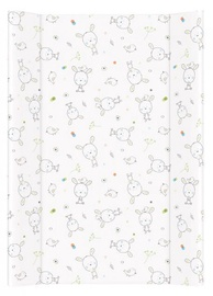 Ceba Baby Hard Changing Mat Short Dream Roll Over White