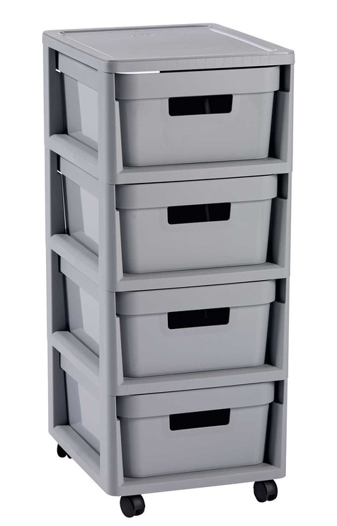 Curver Infinity Chest 4x11L Gray