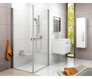 Ravak CRV1 Glossy Transparent Glass Shower Wall