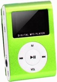 Музыкальный проигрыватель Setty Super Compact, зеленый, - ГБ