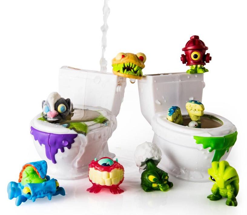 Фигурка-игрушка Spin Master Flush Force Bizzare Bathroom 8-Pack S1 6037317