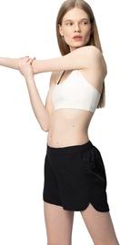 Audimas Light Stretch Fabric Shorts Black M