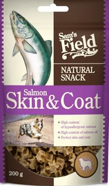 Sam's Field Natural Snack Salmon Skin/Coat 200g