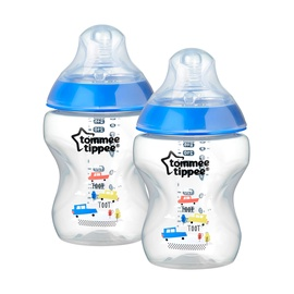 Tommee Tippee Colored Feeding Bottles 260ml 2pcs