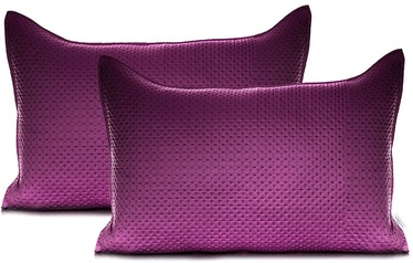 AmeliaHome Carmen Pillowcase Magenta Purple 50x70 2pcs