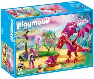 Playmobil Fairies Friendly Dragon With Baby 9134