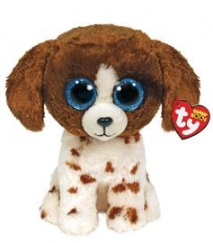 Плюшевая игрушка TY TY36249, коричневый/многоцветный, 15.5 см